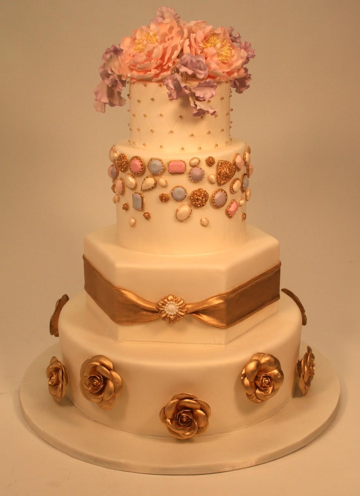 For the Love of Cake by Garry Ana Parzych Custom Wedding Cake