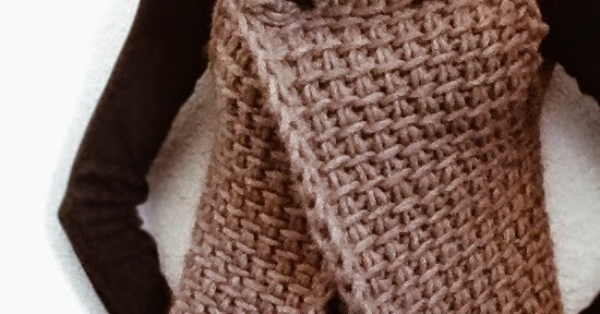 Knit 1 La The Tunisian Crochet Vest