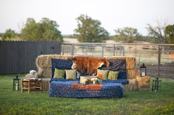 Juneberry Lane Hay Bale Heaven Creative Seating On A