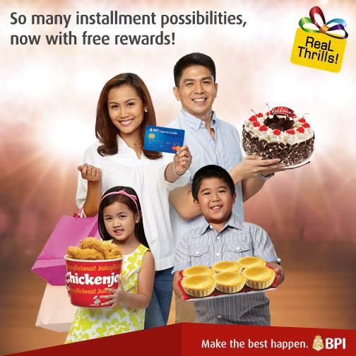 Bpi credit card freebies september 2018