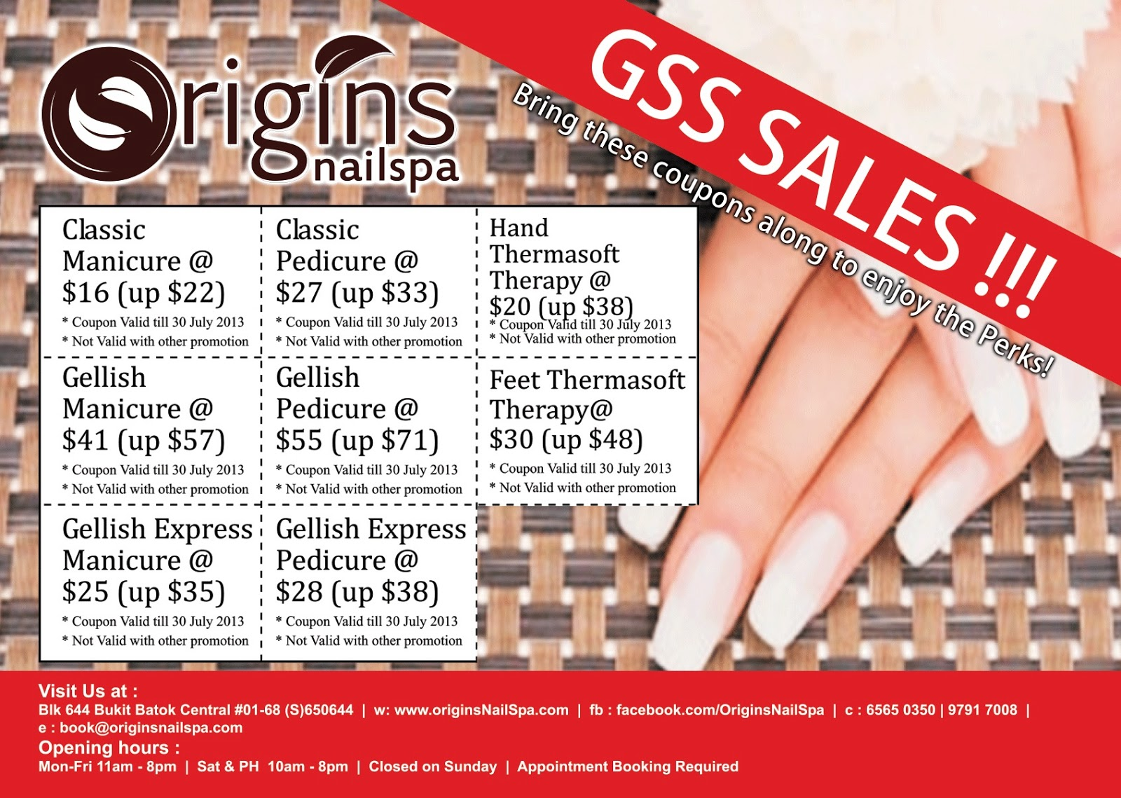 Review] Origins Nail Spa