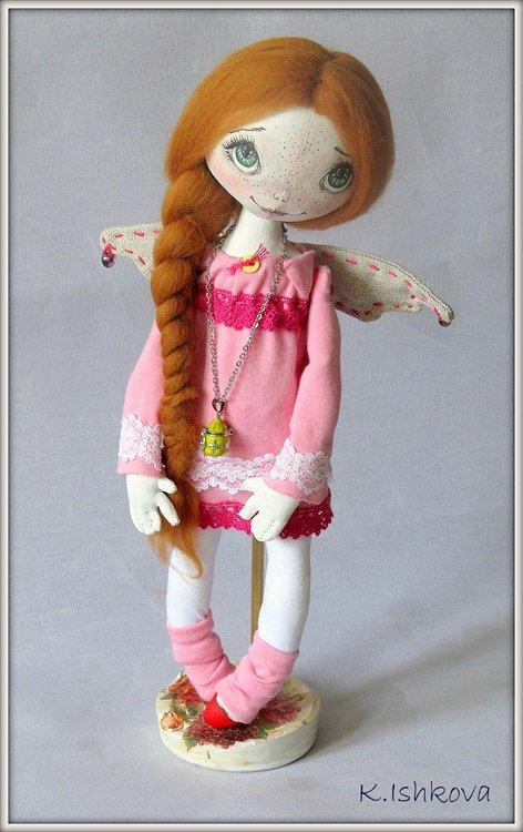 Подставка для текстильных кукол своими руками