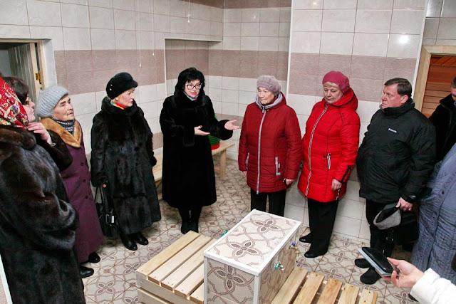 В Жучках после капремонта открылась баня Сергиев Посад