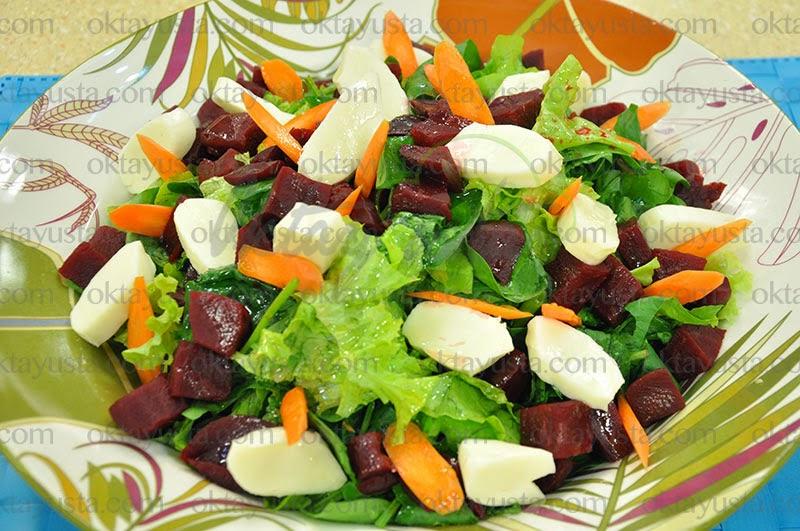 Ispanaklı Pancar Salatası Tarifi Kolay Yapımı