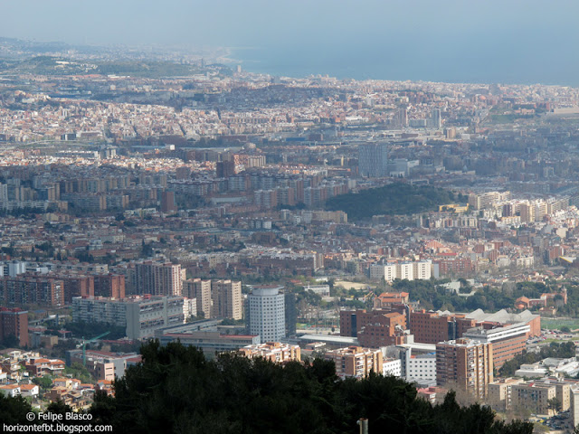 Panorámica de Barcelona desde Collserola
