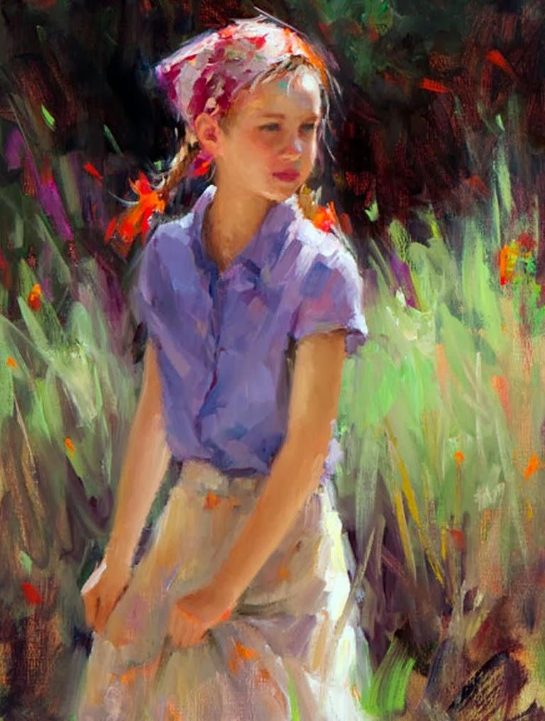 paisajes-con-niñas-pintadas-en-impresionismo
