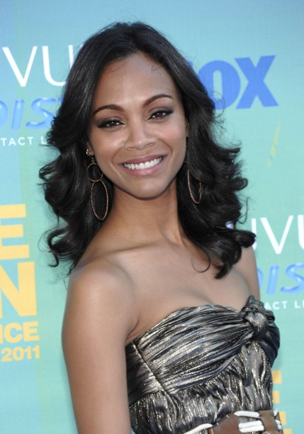 zoe saldana offended by costar michael vartan kissing ban