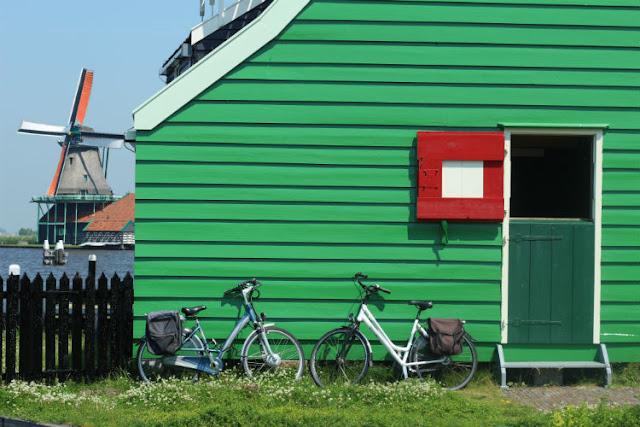 Windmills at the Zaanse Schans