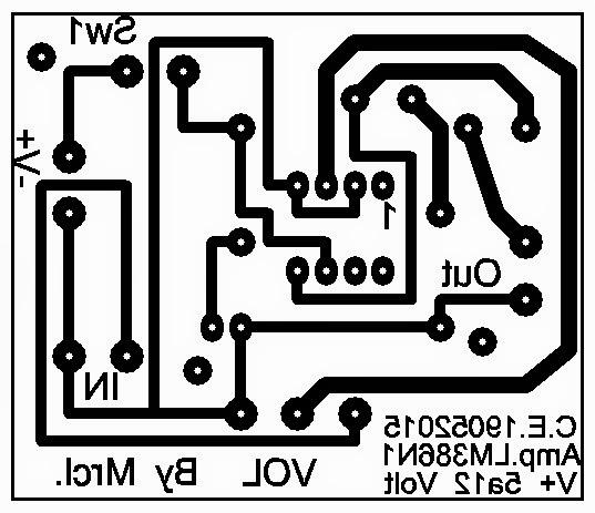PCB printer circuit board