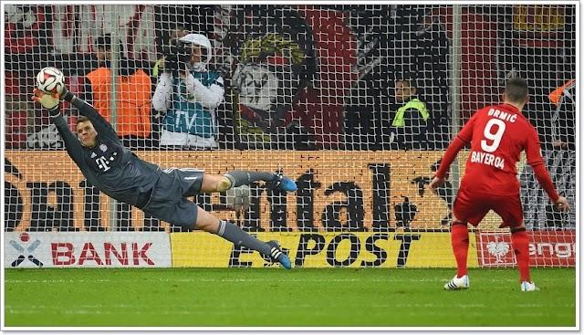 Neuer salva e Bayern passa nos Pênaltis