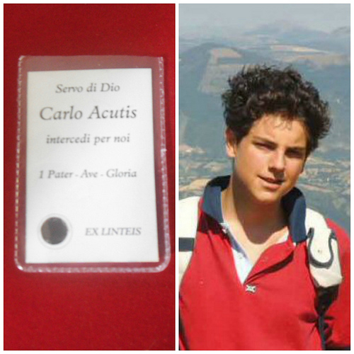 (OCTOBER 12) - CARLO ACUTIS, SERVANT OF GOD