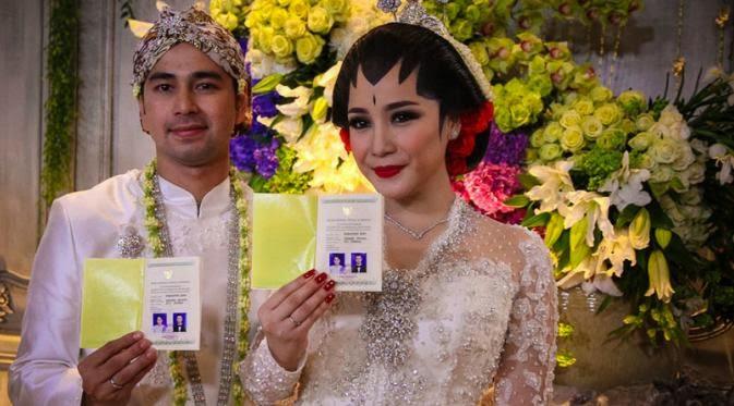 Foto Pernikahan Raffi Ahmad dan Nagita Slavina