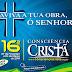 16ª Consciência Cristã, encontro de lideranças com base na fé Cristã