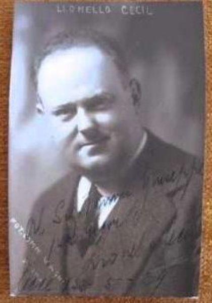 GREAT AUSTRALIAN TENOR LIONELLO CECIL (1893-1967) CD