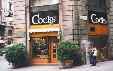 Cocks Resuraunt, what do you think they serve there?