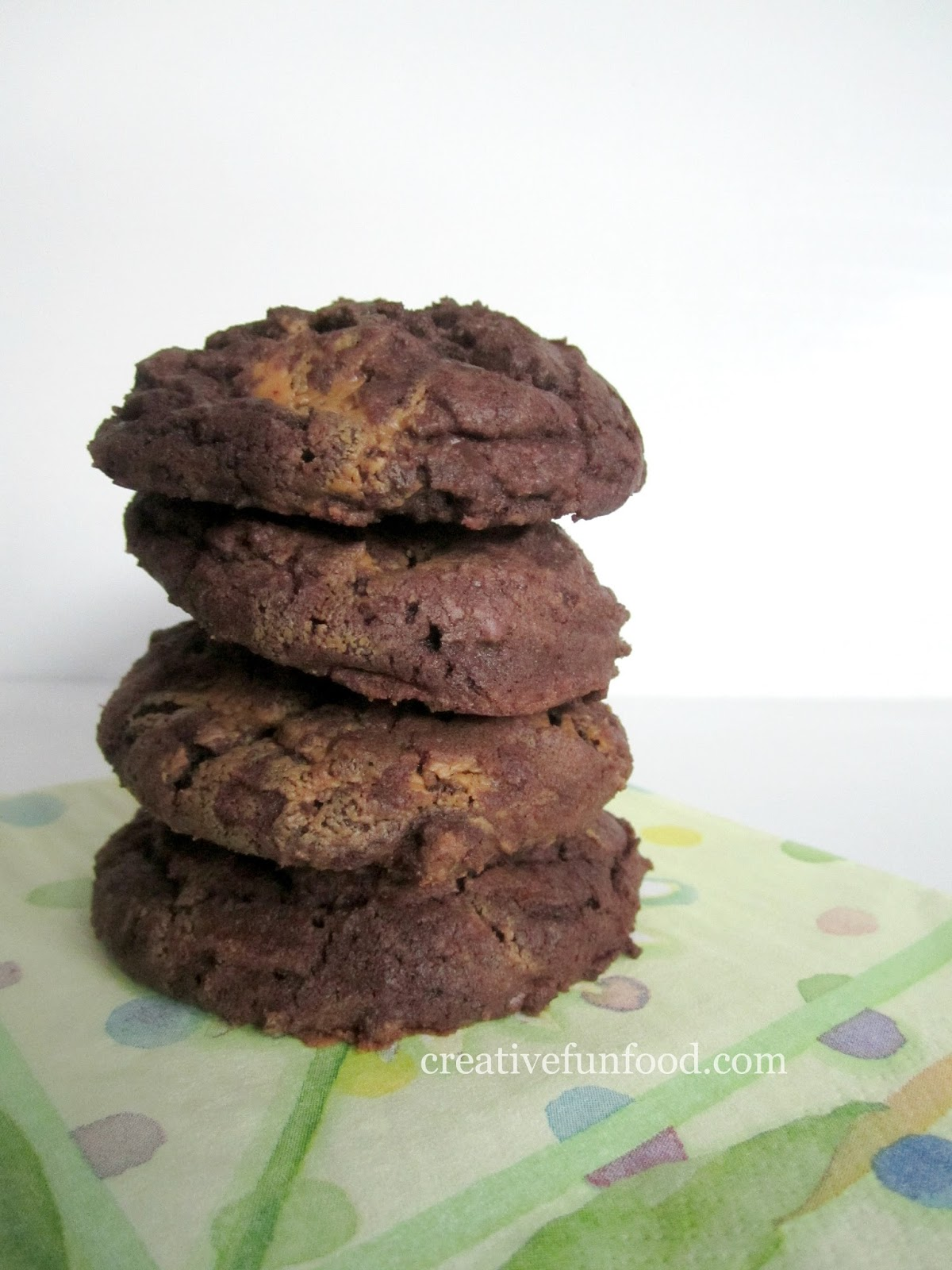 Chocolate Chunk WOWBUTTER Swirl Fudgy Cookies