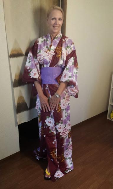 Mom in a Yukata
