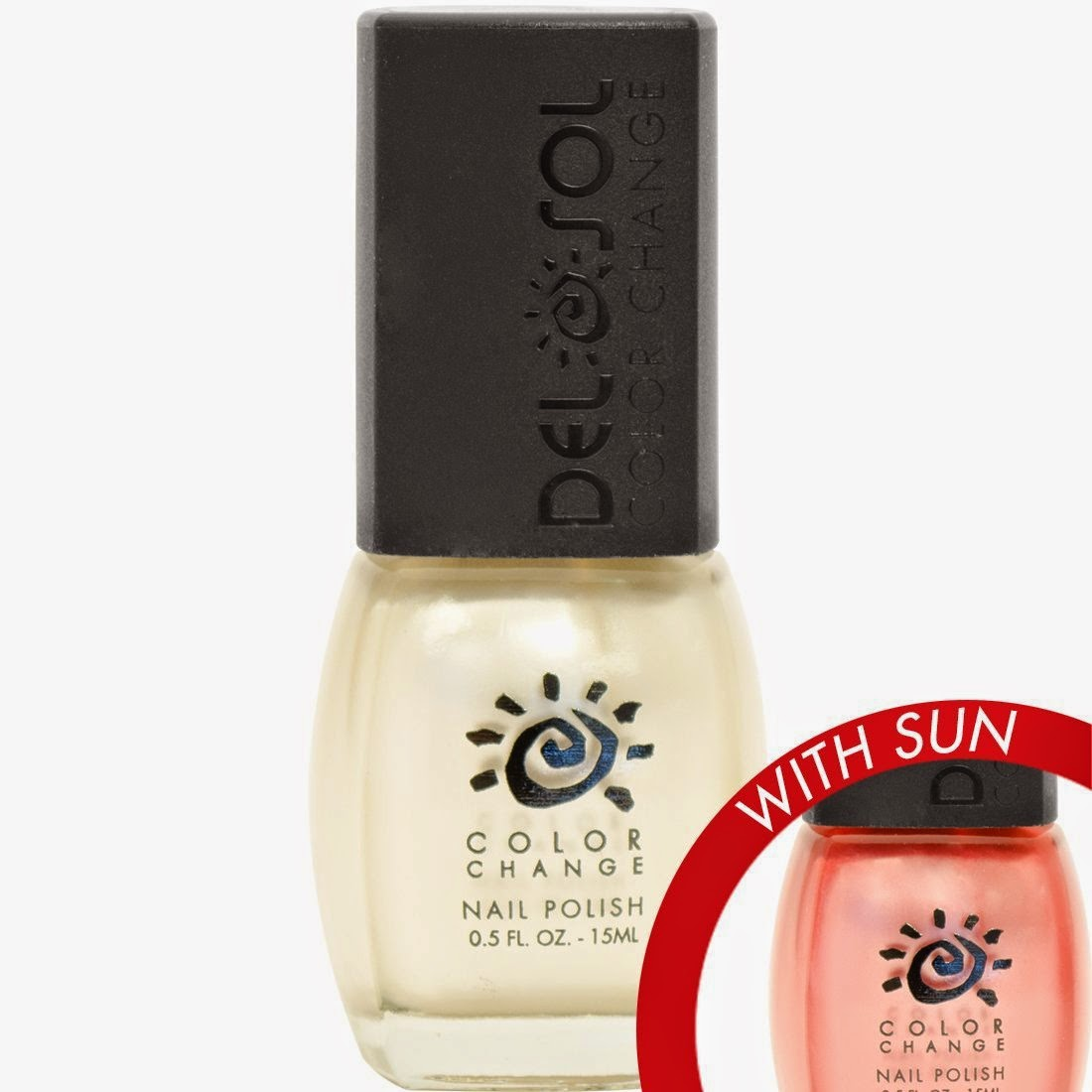 Popular Product Reviews by Amy: Del Sol Color Changing Nail Polish ...