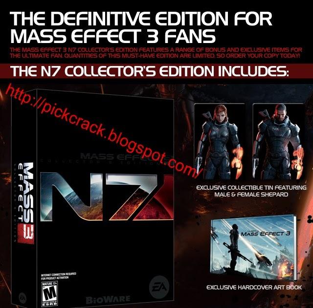 Mass Effect 3 Crack Only+DLC Unlocker Download ~ PICKCRACK ...