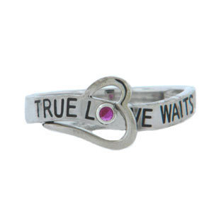 True Love Waits - promise rings for girlfriend