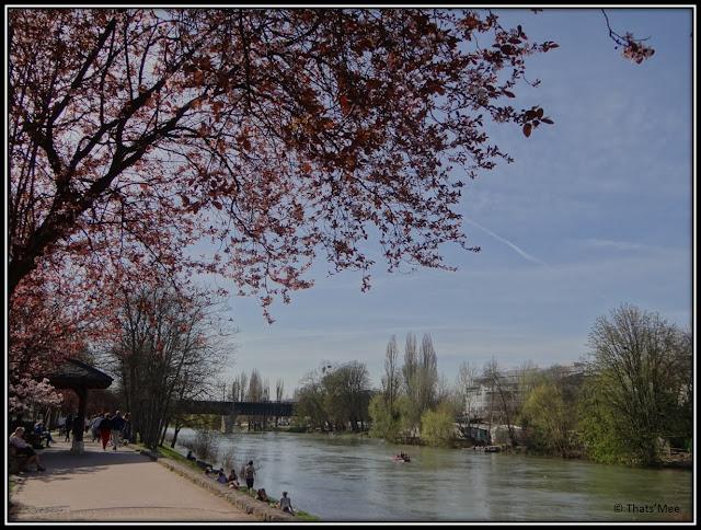 Bords de Marne cerisiers St Maur, Marne inspiration impressionnistes
