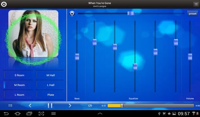 Equalizer MusicPlayer android apk - Screenshoot