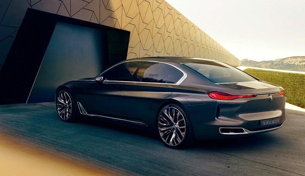 Bmw Vision Future Luxury Concept Sport Car Design