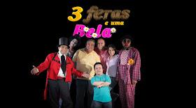Ao lado do Mestre Dedé Santana, Alisson Diniz, Claudinho Castro e Cia Ltda