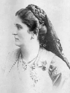 Reine Milena de Monténégro, née Milena Vukotić 1847-1923