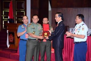 Presiden RI Beri Pengarahan Rapim TNI