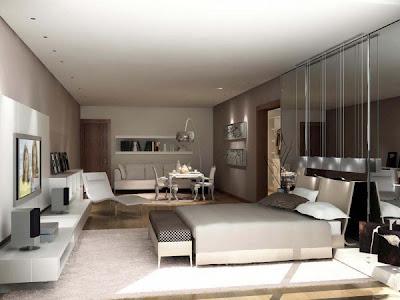 habitación matrimonial moderna