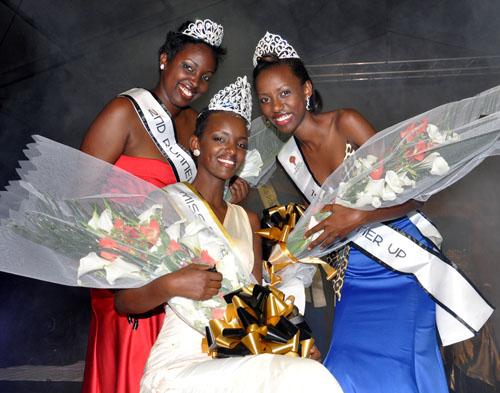 Miss Rwanda 2012 Aurore Kayibanda Umutesi