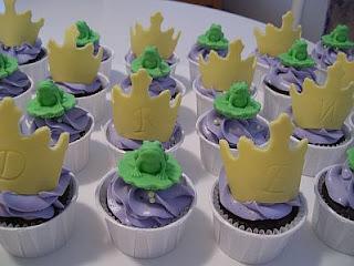 Cupcakes de La Princesa y el Sapo para Fiestas Infantiles, parte 1