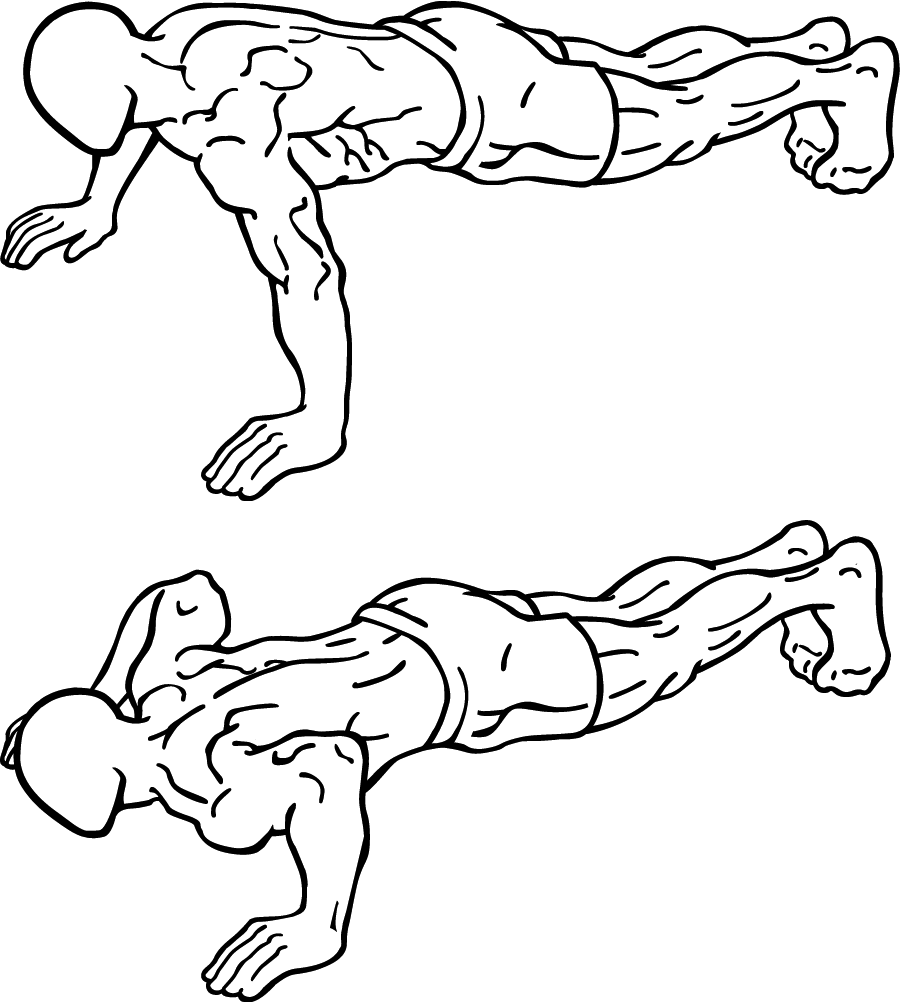 Get Good and Attractive Chest Muscles Push Ups Lambi Dand