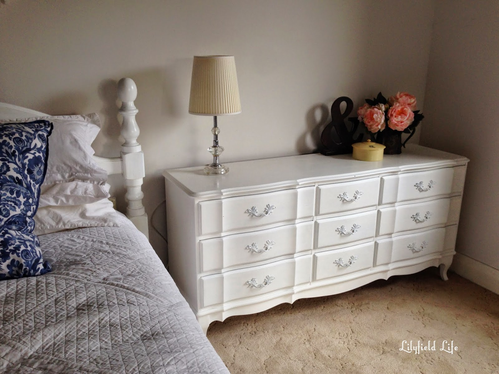 Lilyfield Life white painted french drawers
