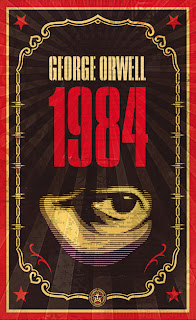 Tapa del libro 1984 de George Orwell