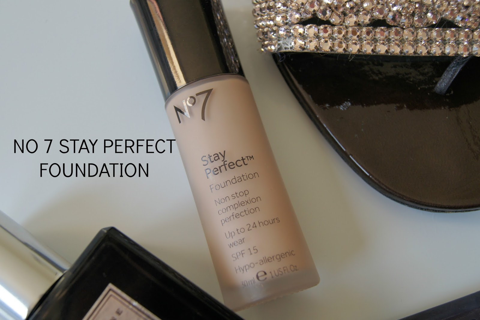 No 7 Stay Perfect foundation