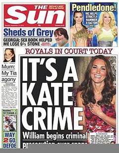 comparing a tabloid and a broadsheet article