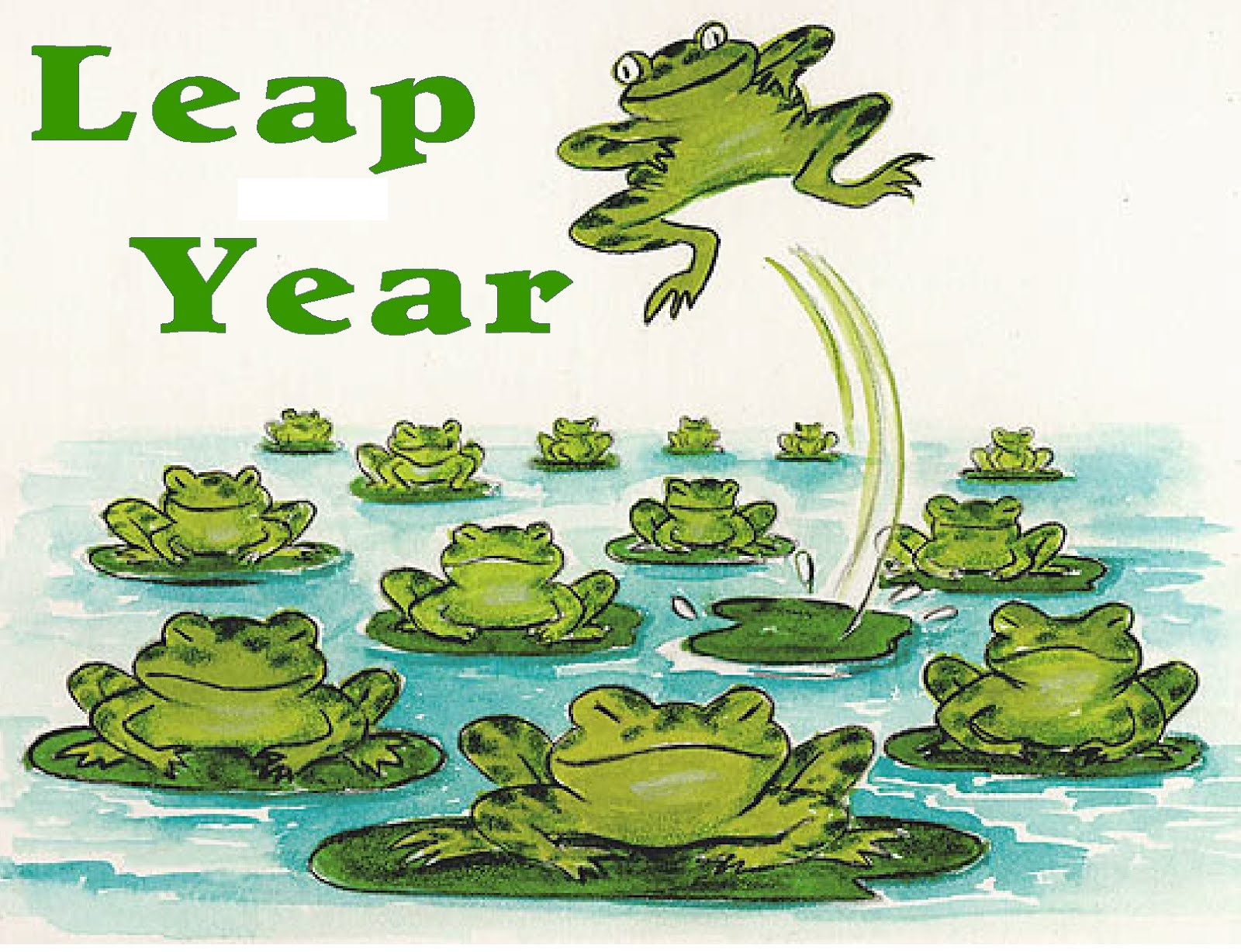 It is a photo of Sassy Leap Year Printable