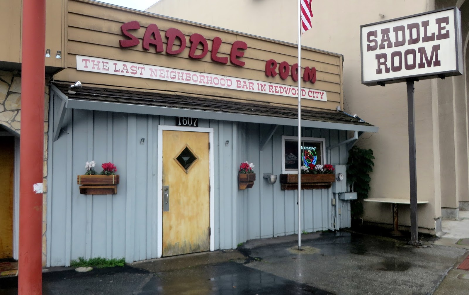Seattlebars.org: #2421 - The Saddle Room, Redwood City, CA - 2/28/2014