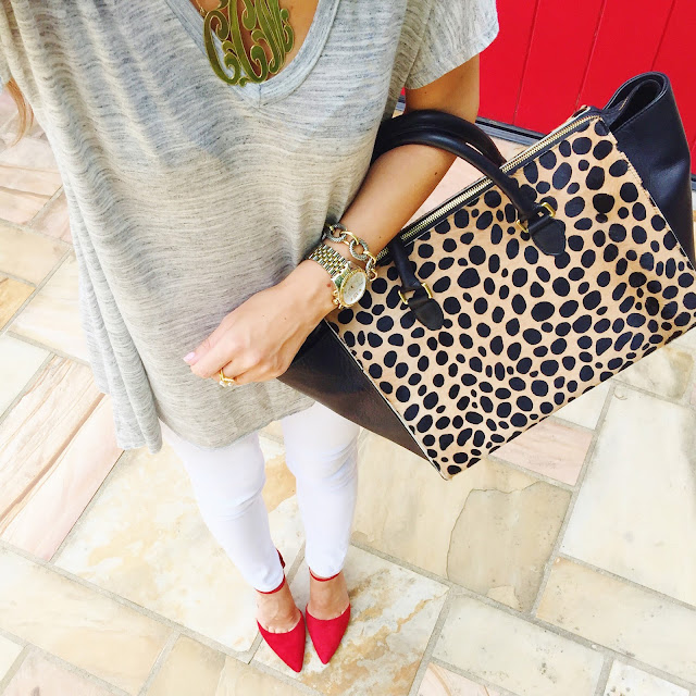 Leopard bag...