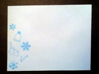 You can't have a fancy card without a matching cute envelope... [front]