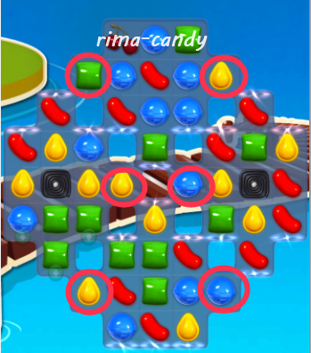 Rima's Candy Crush Bar: Candy Crush Level 137
