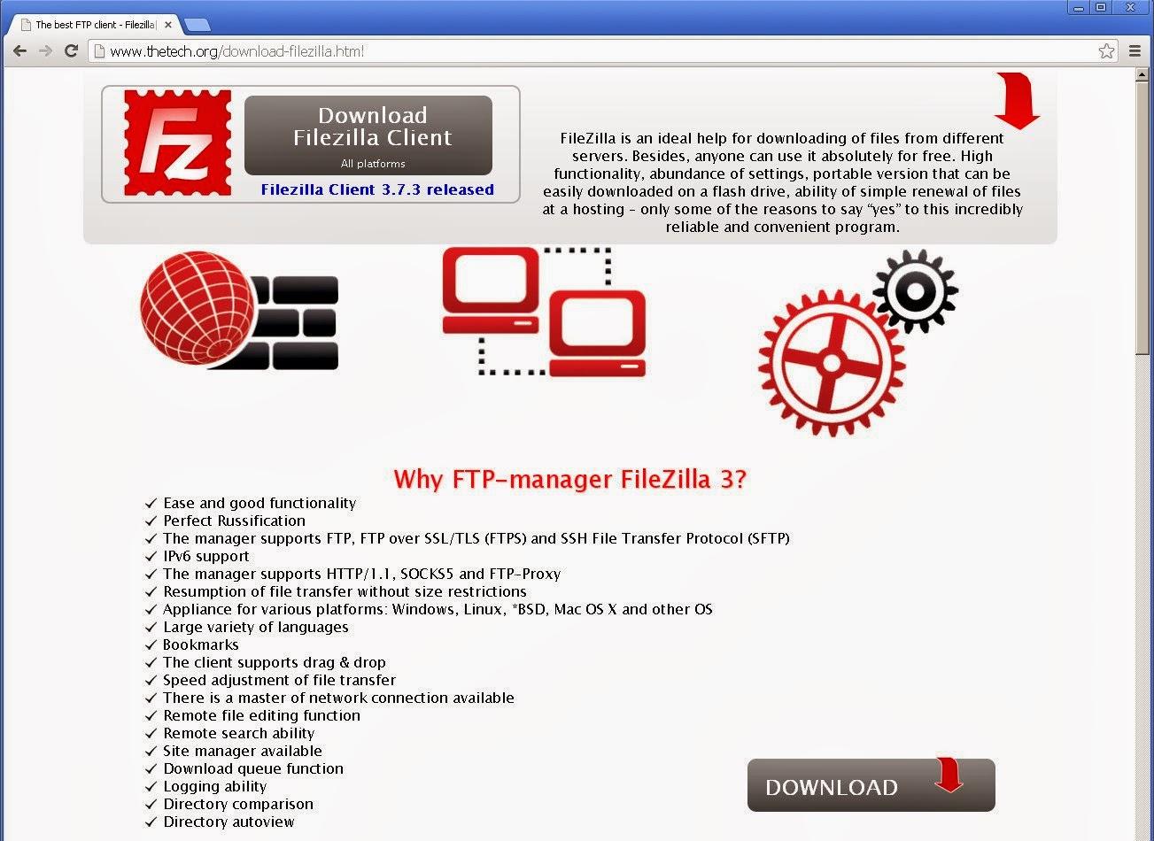 Dikkat! FileZilla Sürümlerinden bazılarında virüs tespit edildi.