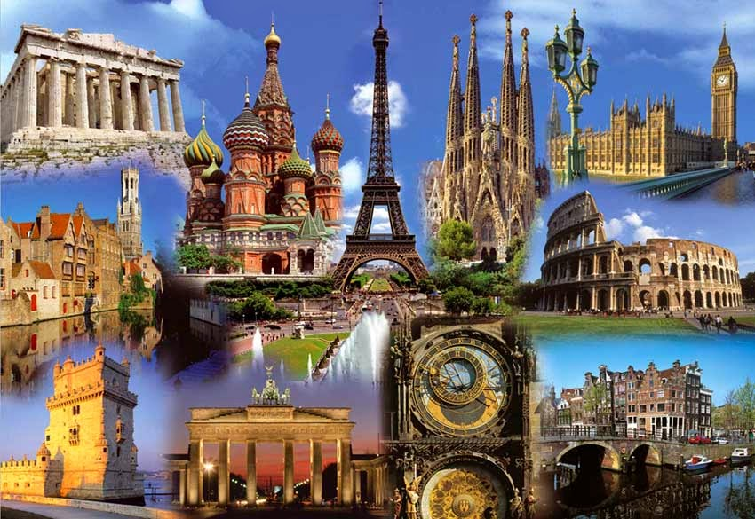Geografia del continente europeo geografia de europa for Best europe travel deals
