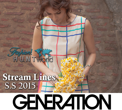 GENERATION Stream Lines Spring Summer 2015 Catalogue