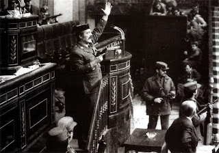 El teniente coronel Tejero toma el Congreso el 23 de febrero de 1981