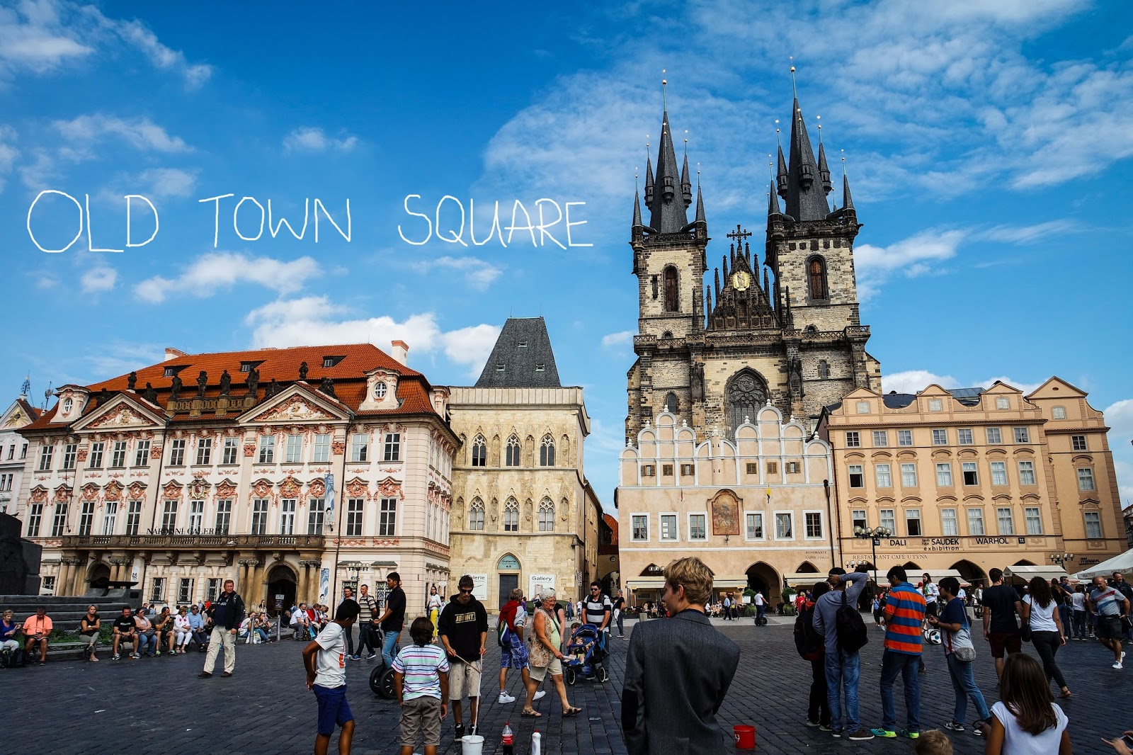 prague old town square 1