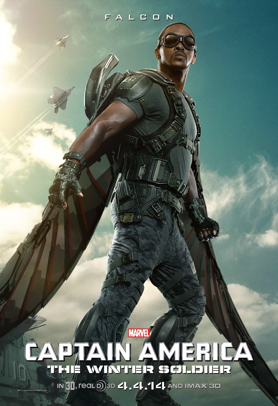 Captain America The Winter Soldier,Falcon,poster
