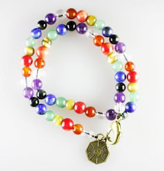 7 Chakras Double Bracelet